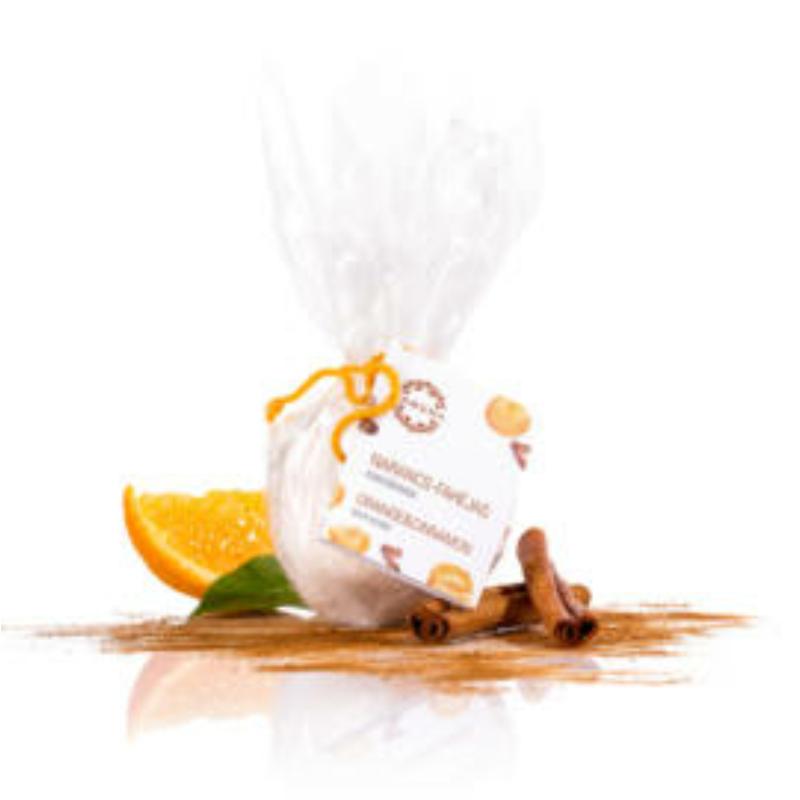 Narancs-fahéj fürdőbomba
