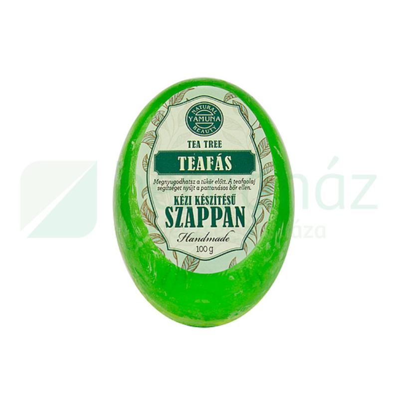 Glicerines teafa olajos szappan