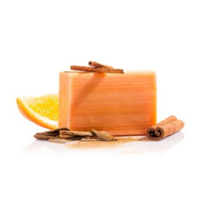 Narancs-fahéj szappan