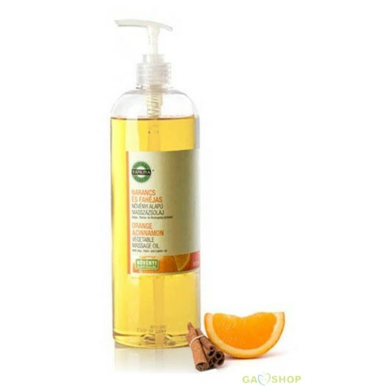 Narancs-fahéj masszázsolaj 1000 ml