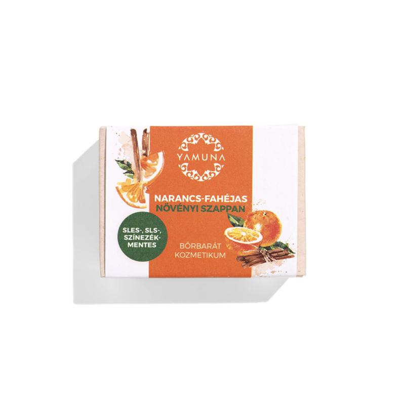 Narancs-fahéjas prémium szappan