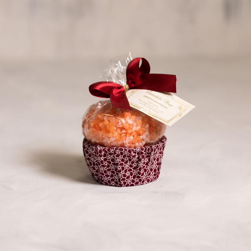 Gránátalma fürdősó muffin