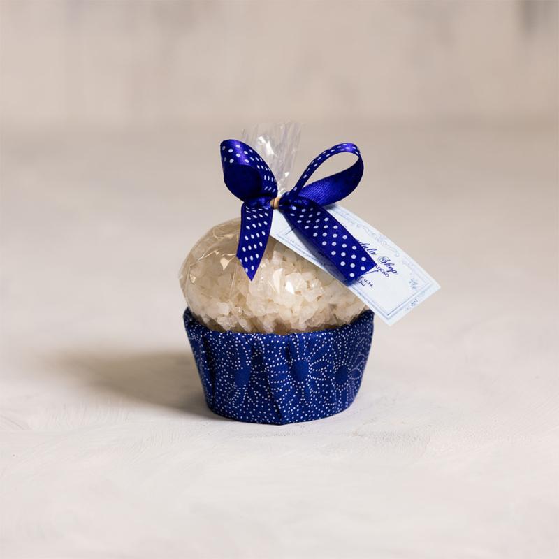 Szőlőmagolajos fürdősó muffin