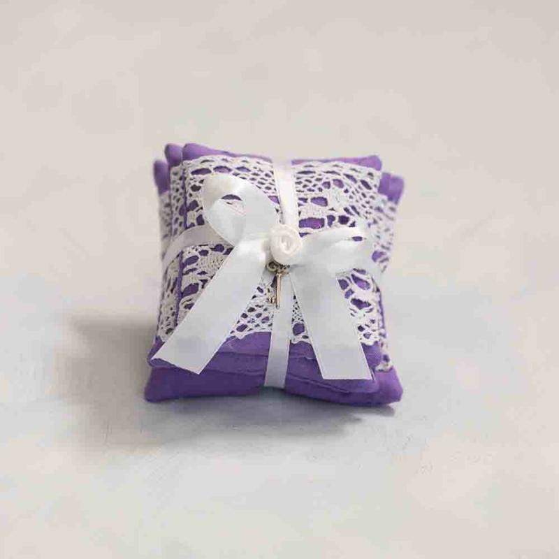 Vintage párna csomag - világos lila