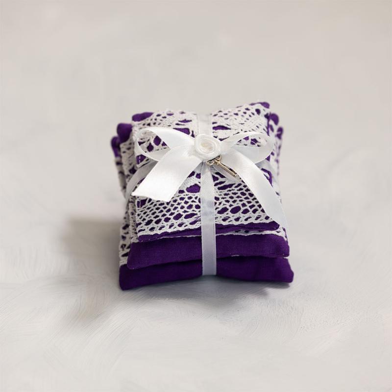 Vintage párna csomag - sötét lila